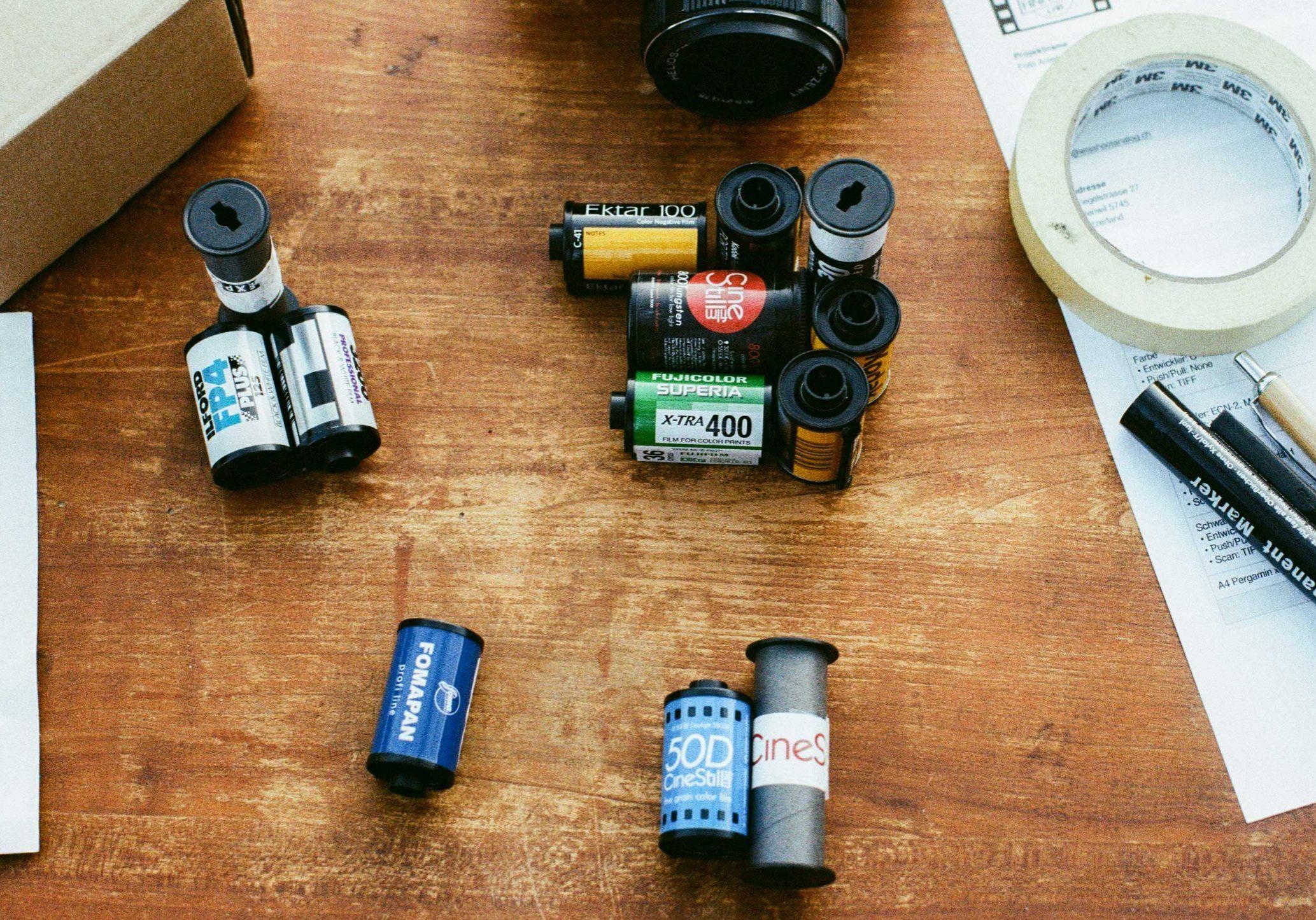 Schweizer Filmlabor, alles für die Entwicklung und Analog Fotografie